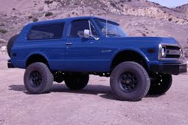 100 Icon Trucks This Customized 69 Chevy Blazer From The Mad Geniuses At 4x4