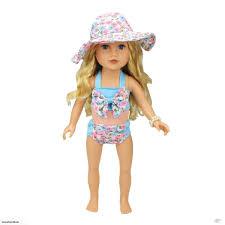 46cm American Girl Doll ClothesSwimsuit Set Trade Me
