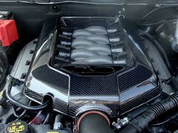 2011 2014 Mustang GT 5 0L Engine Cover MANUAL TRANS CARBON