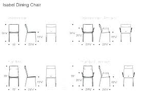 What Is Standard Table Height Coffee Size Dimensions Inches Dining