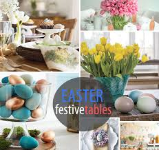 Dining Room Table Decorating Ideas For Spring by 10 Festive Easter Table Settings