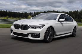 See the 2016 BMW 750i xDrive accelerating to 155 mph