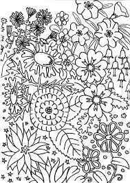 Creative Ideas Garden Coloring Pages To Download And Print For Free