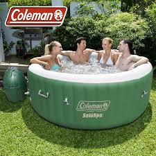 Portable Bathtub For Adults Online India by Coleman Saluspa Inflatable Portable Massage Spa For 4 6 People