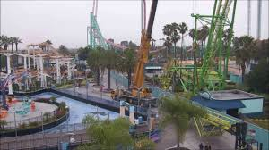 Knotts Berry Farm Halloween Hours by Knott U0027s Berry Farm 2017 Boomerang Removal Time Lapse Youtube