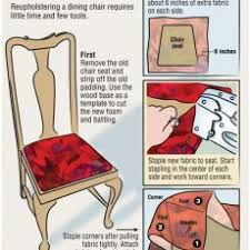 Luxurious And Splendid Recovering Dining Room Chair Cushions DIY Reupholster Chairs Pinterest Seat Yard Sale Is