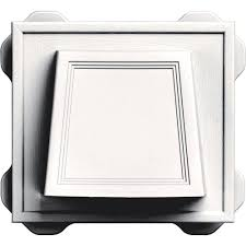 Bathroom Fan Soffit Vent Home Depot by Master Flow 4 In Resin Circular Mini Wall Louver Soffit Vent In