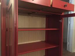 ikea red hemnes linen cabinet for sale in houston tx 5miles