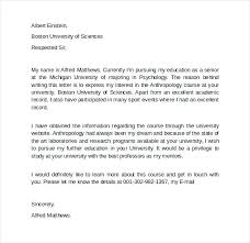 Letter Intent for Graduate School Example Letter Intent