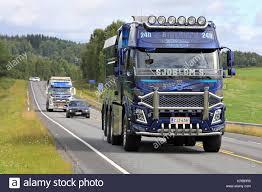 100 Vacuum Trucks IKAALINEN FINLAND AUGUST 13 2017 Customized Volvo Vacuum Trucks