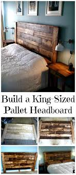 DIY Kind Sized Pallet Headboard Tutorial