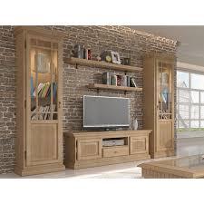casamia wohnzimmer schränke set wohnwand duett 2 vitrinen tv lowbao farbe pinie karamell beleuchtung ohne beleuchtung