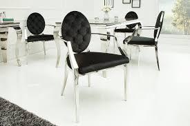 riess ambiente esszimmerstuhl modern barock schwarz mit armlehne kaufen otto