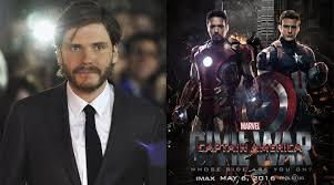 Daniel Bruhl Captain America Civil War Baron Helmut Zemo