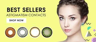 Prescription Halloween Contacts Astigmatism by Colored Contacts For Astigmatism U2013 Queencontacts