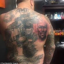 Floyd Mayweather Posted A Tribute To Superfan Who Had Tattoos Of The Unbeaten Fighter On