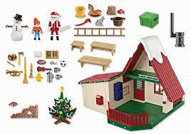 maison du pere noel playmobil playmobil 5976 la maison du père noël au meilleur prix