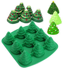 Brick Hunters Christmas Tree Muffin Cake Mold