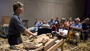 pbs star roy underhill attends woodworking gathering in winston