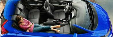 2017 Honda Fit Interior Seating and Technology Features