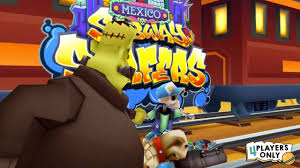 Subway Surfers Halloween Update by Subway Surfers Manny Unlock Halloween Update Mexico 2 By