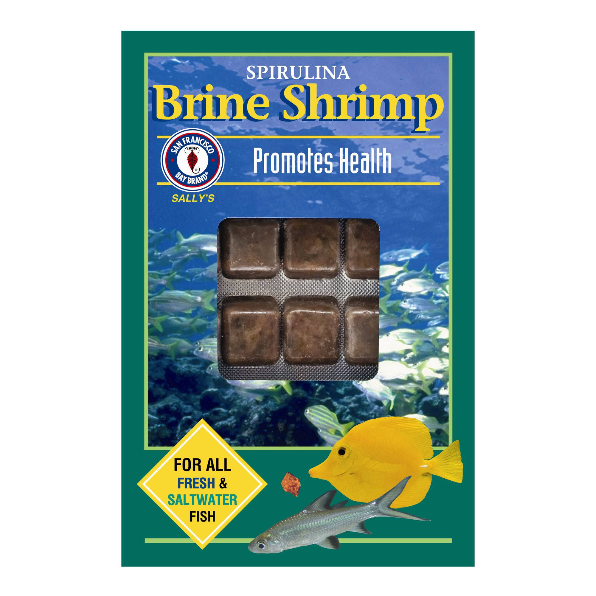 San Francisco Bay Frozen Spirulina Brine Shrimp