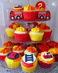100 Fire Truck Cupcake Toppers 12 Man Fondant Cupcake Toppers Fighter Party Man