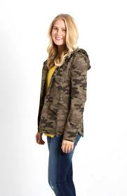 mine clothing camo anorak jacket for women tb1249