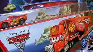 100 Mack Truck Playset Hauler Car Wash CARS 2 With Lightning McQueen