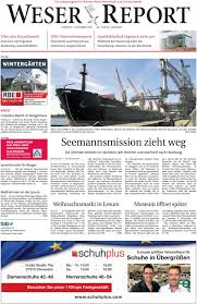 weser report nord vom 01 12 2019 by kps