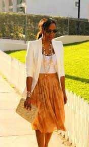what to wear with a pleated skirt fashiongum com