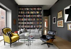 Mixing Old And New Furniture Styles | New Home | Bookshelves ... Eames Lounge Chair Ottoman Armchair Vitra A Colorful And Eclectic Brooklyn Apartment Home Tour Lonny Replica Vintage Brown Walnut Fniture 9 Smallspace Ideas To Steal From A Tiny Paris By Charles Ray 1956 Pnc Real Estate Newsfeed Lovinna Storage Unit Esu Shelf Stock Photos Herman Miller The Century House Madison Wi Ding Portvetonccom