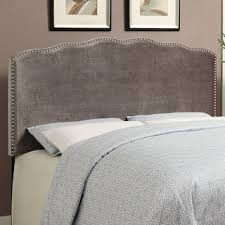 Value City Furniture Upholstered Headboards by Aubrey Queen Upholstered Headboard Gray Value City Furniture