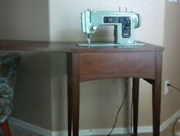 Vintage Kenmore Sewing Machine In Cabinet by Vintage Kenmore Sewing Machine Model 158 903 In Cabinet 60 On
