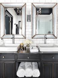 Bathroom Mirror Frame Ideas Hanging Wall Lamp With Chains Smooth ... 21 Bathroom Mirror Ideas To Inspire Your Home Refresh Colonial 38 Reflect Style Freshome Amazing Master Frame Lowes Bath Argos Sink For 30 Most Fine Custom Frames Picture Large Mirrors 25 Best A Small How Builders Grade Before And After Via Garage Wall Sconces Framing A Big Of With Diy Reason Why You Shouldnt Demolish Old Barn Just Yet Kpea Hgtv Antique Round The Super Real