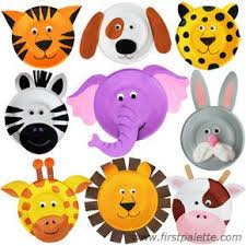 Paper Plate Animals Craft