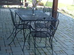 Vintage Woodard Patio Chairs by Vintage Woodard Patio Table And Chairs Sold Vintage Wrought Iron