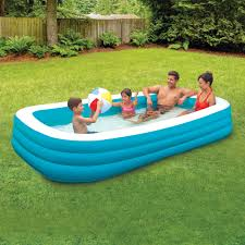 100 Water Truck To Fill Pool Play Day Deluxe Inflatable Family 10 Walmartcom