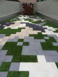 Minecraft Circle Floor Designs by Circle Pavers In Pea Gravel Instead Of Grass Permeable Surface