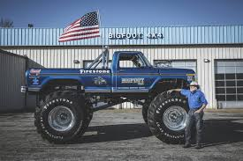 100 Bigfoot Monster Trucks Meet The Man Behind The First Truck WSJ