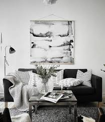 Simple Living Room Ideas by Best 25 Black Sofa Ideas On Pinterest Black Sofa Living Room