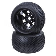 100 Truck Tires And Wheels 4PcsSet 140mm RC 18 Monster Plastic 17mm Hex