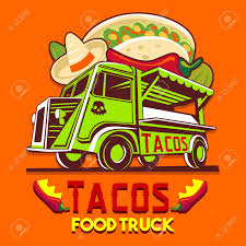 100 Mexican Food Truck Logotype For Taco Meal Fast Delivery Service