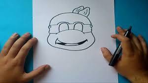 Como Dibujar A Las Tortugas Ninja Paso A Paso How To Draw Teenage
