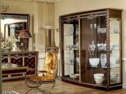 mobiliar interieur edle vitrine antik stil barock rokoko