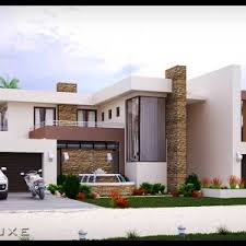 104 Contemporary House Design Plans Double Story 4 Bedroom Plan Modern Plandeluxe