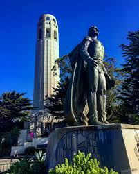 Coit Tower Murals Tour by Coit Tower San Francisco California Travel Photo Journal