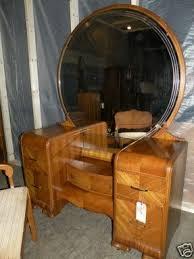 Waterfall Vanity Dresser Set by Art Deco Bedroom Sets Foter