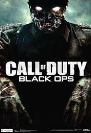 Call Of Duty Black Ops Zombie Video Game Poster 13 X 19in