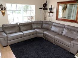 here is a beautiful alessia pearl leather tufted sofa by macy s